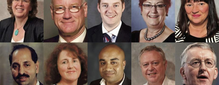 Councillors and MP
