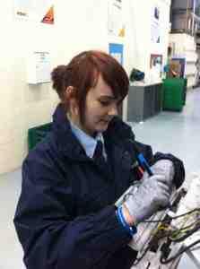 British Gas apprentice