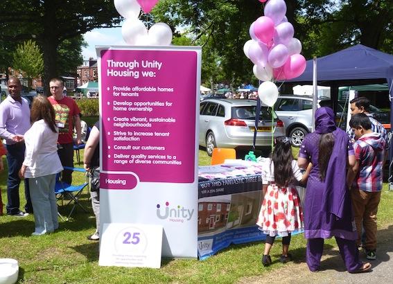 Unity at Beeston Festival