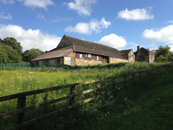 Stank Hall Barn