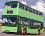 vintage Leeds bus