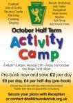Half term activities for children