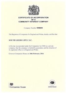 CIC Certificate SLL
