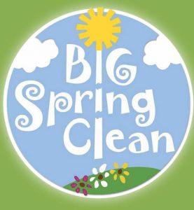 Big Spring Clean logo