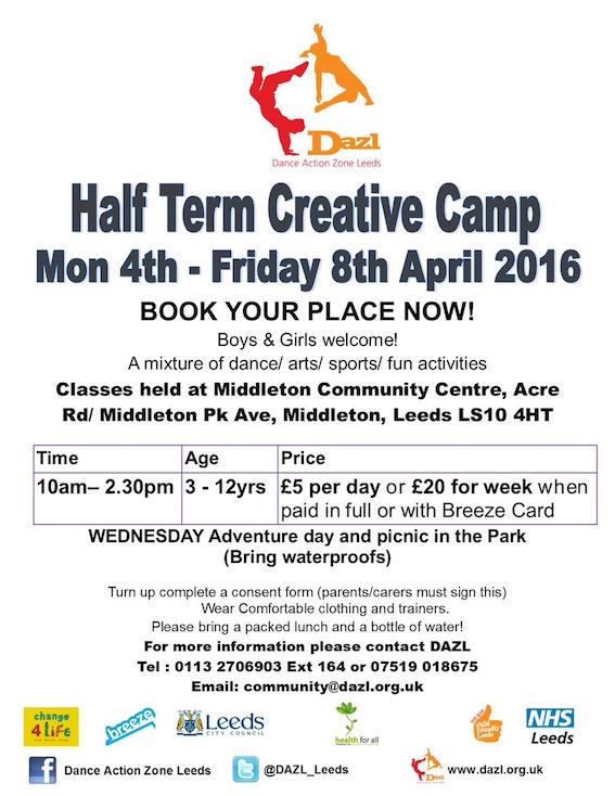 DAZL Creative Camp (Middleton)