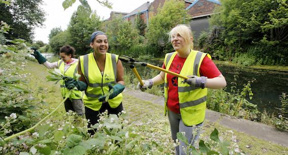 Groundwork young volunteers