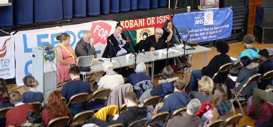 Paul Mason on the panel at a previous Summat