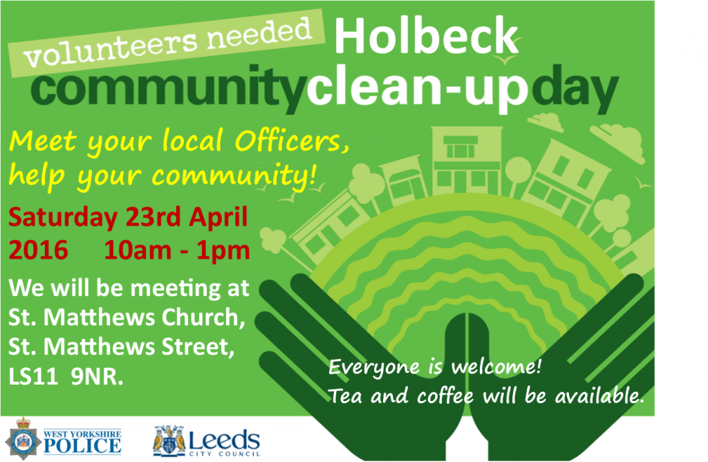 holbeck clean up day