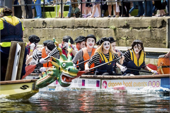 Dragon Boat racing. Photo: Raj Passy Photography