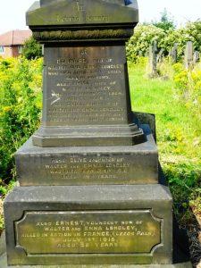 Holbeck Cemetery Longley memorial