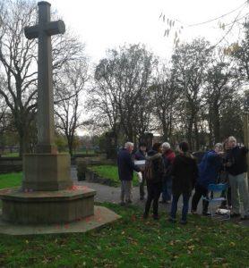 Holbeck Cemetery war memorial