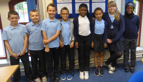 Candidates to be Head Boy and Head Girl