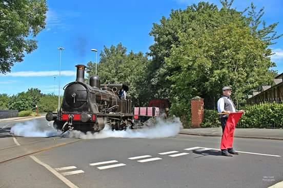 Middleton Railway crossing