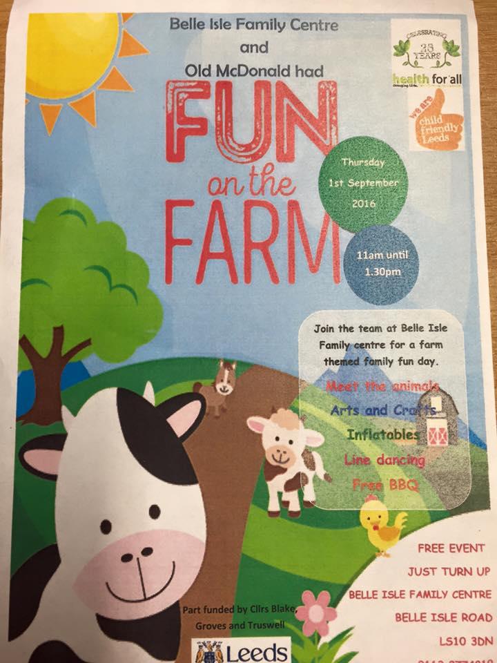 Belle Isle Farm Fun
