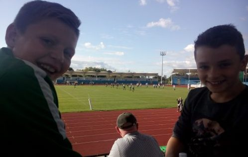 500+ Hunslet supporters of all ages attended (image: Ed Carlisle)