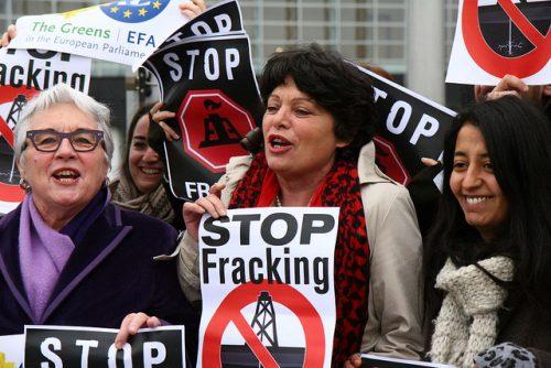 Fracking has provoked considerable controversy across the world (image: greensefa, via Creative Commons)