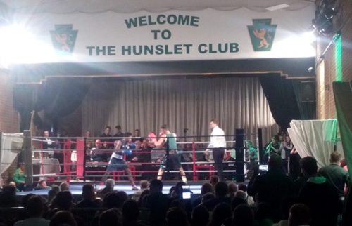 Ismail Khan in action at the Hunslet Club last weekend (image: Ed Carlisle)